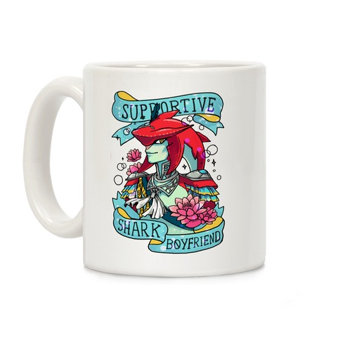 Prince Sidon: Supportive Shark Boyfriend Coffee Mug