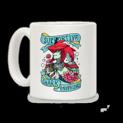 Prince Sidon: Supportive Shark Boyfriend Coffee Mug