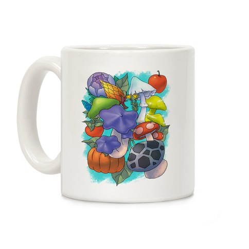 Hylian Shrooms and Veggies Coffee Mug