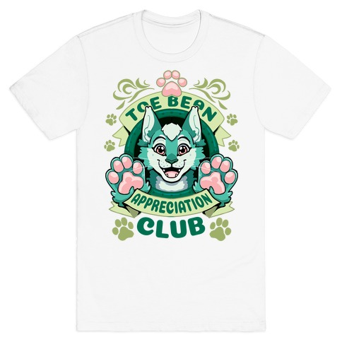 Toe Bean Appreciaton Club (Cat Ver.) T-Shirt