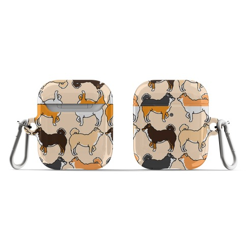 Shades of Shiba Inu Pattern  AirPod Case