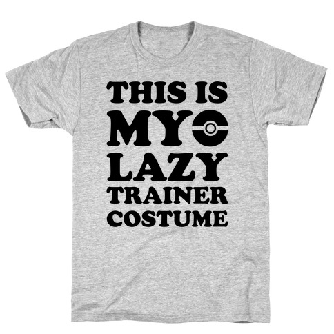 This Is My Lazy Trainer Costume T-Shirt