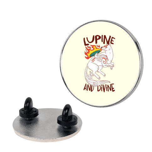 Lupine and Divine  pin