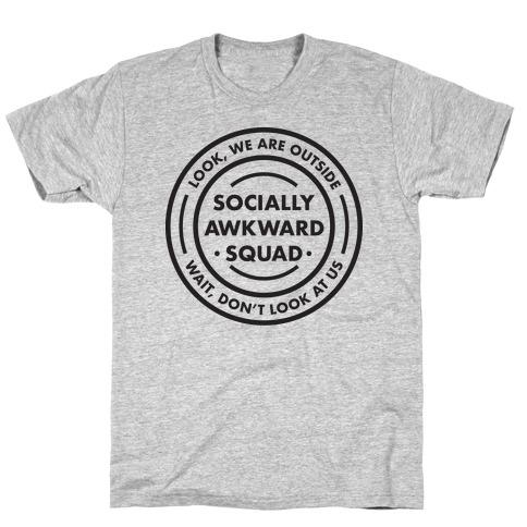 Socially Awkward Squad T-Shirt