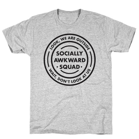 Socially Awkward Squad T-Shirt