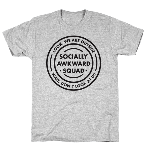 Socially Awkward Squad Mens T-Shirt