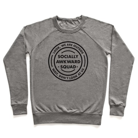 Socially Awkward Squad Pullover