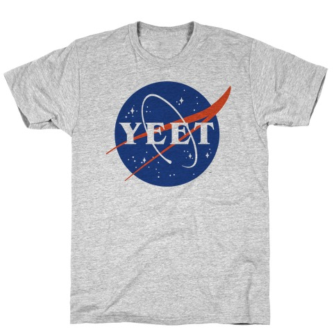 Yeet Nasa Logo Parody T-Shirt