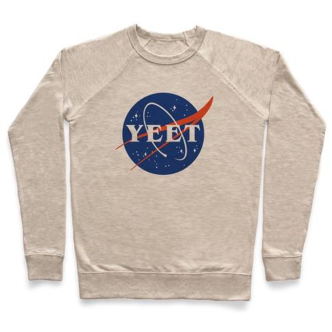 Yeet Nasa Logo Parody Pullover