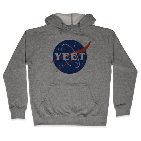 Yeet Nasa Logo Parody Hooded Sweatshirt