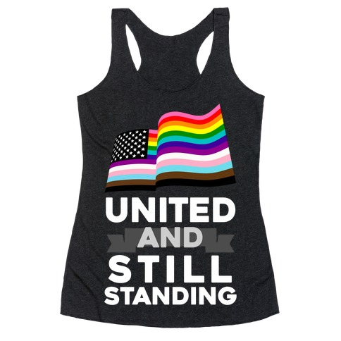United And Still Standing Racerback Tank Top