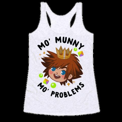 Mo' Munny Mo' Problems Sora Racerback Tank Top