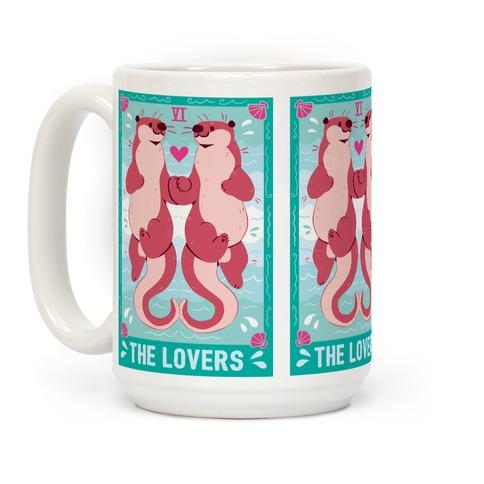 The Lovers: Otters Coffee Mug