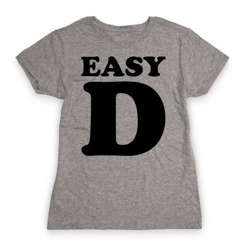 Easy D Womens T-Shirt
