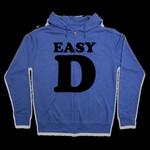 Easy D Zip Hoodie