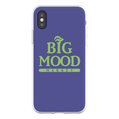 Big Mood Market Phone Flexi-Case