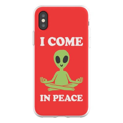 I Come In Peace Phone Flexi-Case