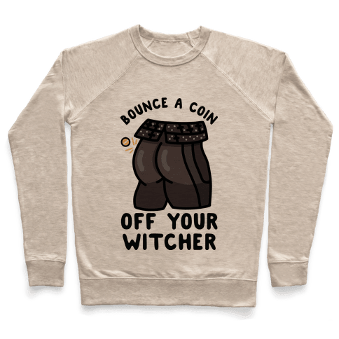 Bounce a Coin Off Your Witcher Pullover