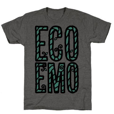 Eco Emo Mens/Unisex T-Shirt