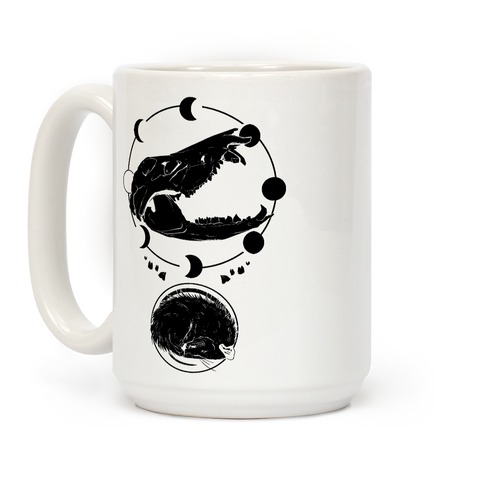 Occult Trash Possum Coffee Mug