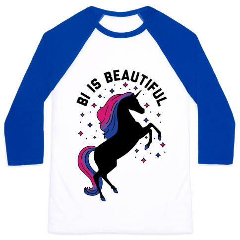 Bi Is Beautiful Baseball Tee
