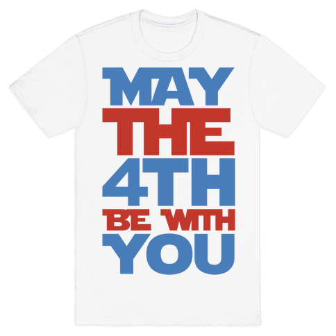 May The 4th Be With You Parody Mens T-Shirt