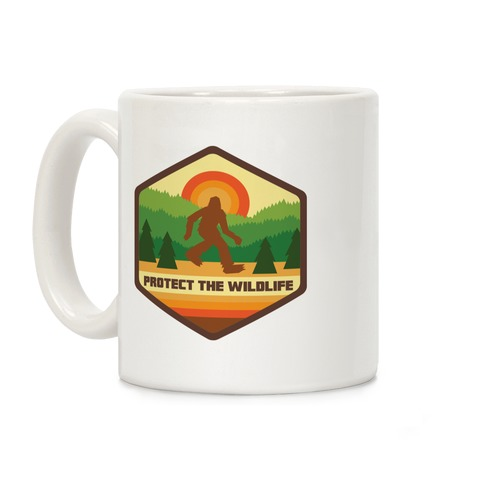 Protect The Wildlife (Bigfoot) Coffee Mug