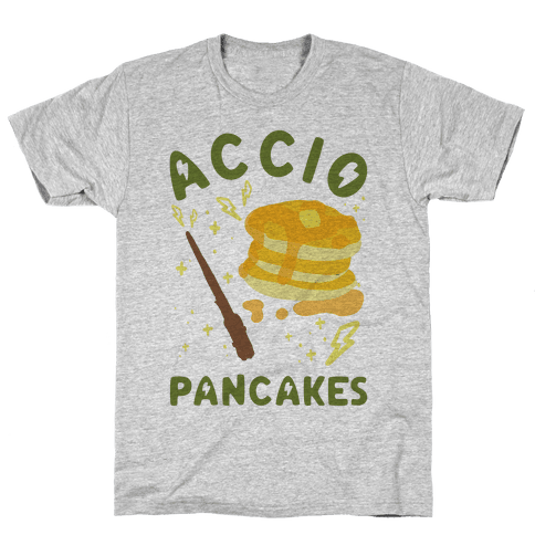 Accio Pancakes Mens T-Shirt