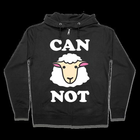 Can Ewe Not Zip Hoodie
