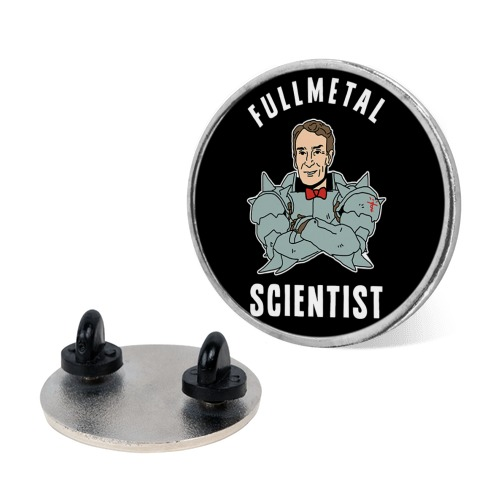 Fullmetal Scientist pin