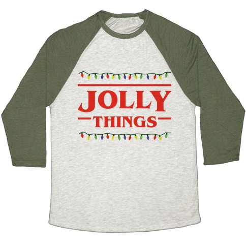 Jolly Things Baseball Tee