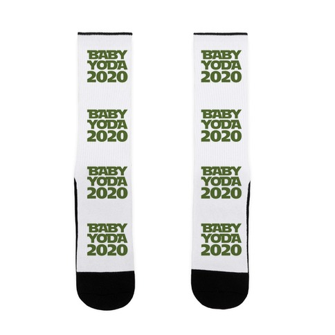 Baby Yoda 2020 Parody Sock