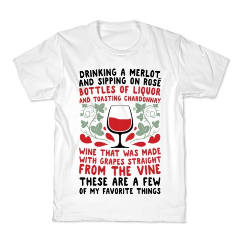 These Are A Few Of My Favorite Things Kids T-Shirt