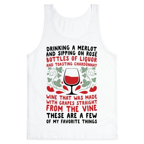 These Are A Few Of My Favorite Things Tank Top