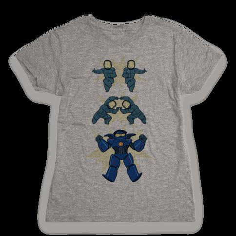 Jaeger Fusion Dance Womens T-Shirt