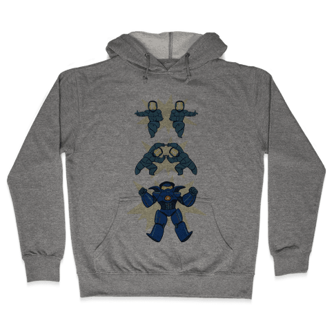 Jaeger Fusion Dance Hooded Sweatshirt