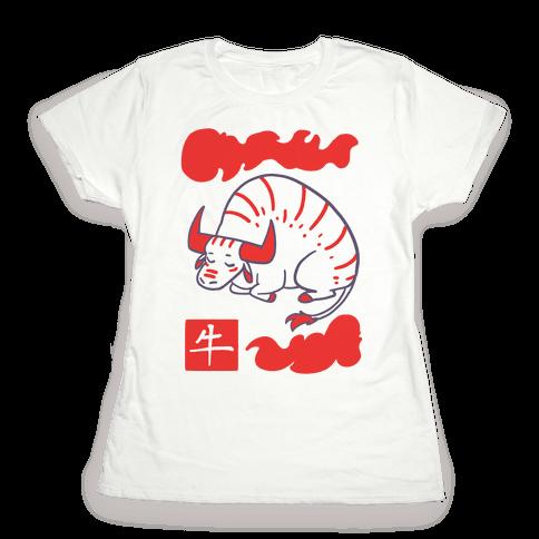 Ox - Chinese Zodiac Womens T-Shirt