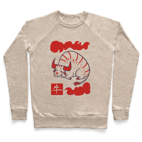 Ox - Chinese Zodiac Pullover