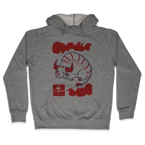 Ox - Chinese Zodiac Hooded Sweatshirt