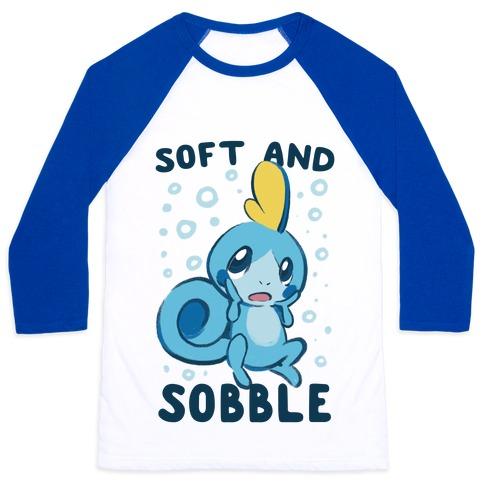 Soft and Sobble Baseball Tee