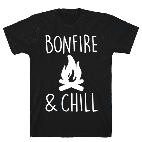 Bonfire & Chill Mens T-Shirt
