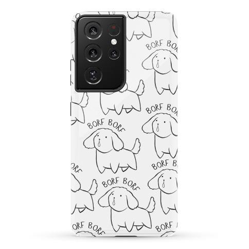 Borf Borf Phone Case