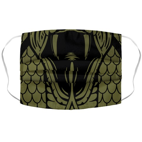 Snake Fangs Face Mask Cover