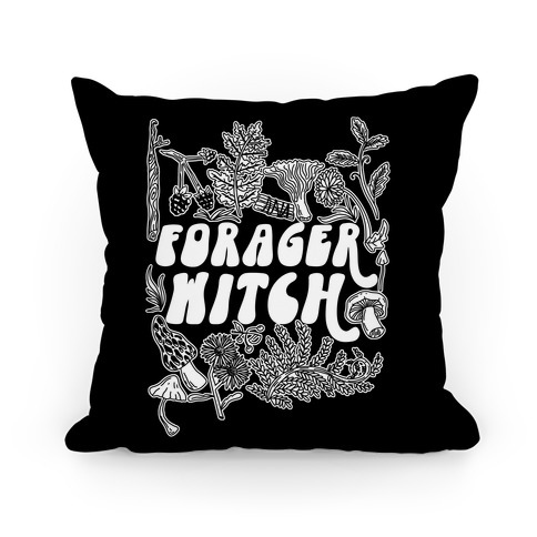 Forager Witch Pillow