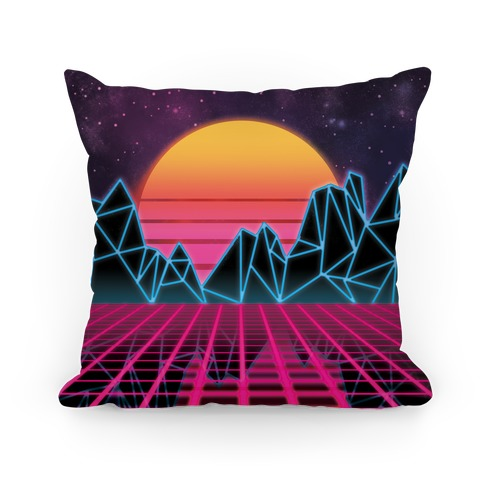 Synthwave Pillow