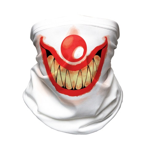 Creepy Clown Neck Gaiter