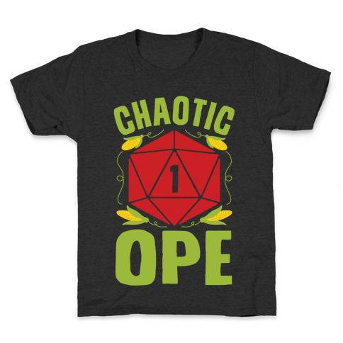 Chaotic Ope Kids T-Shirt
