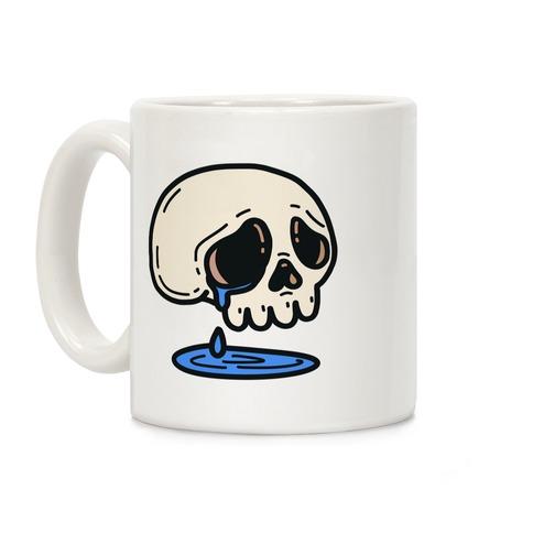 Sensitive Skull Coffee Mug