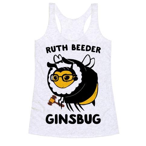 Ruth Beeder Ginsbug Racerback Tank Top