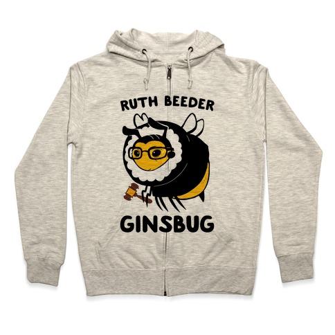 Ruth Beeder Ginsbug Zip Hoodie